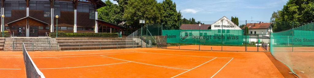 Trainingsorte - Tennisplatz