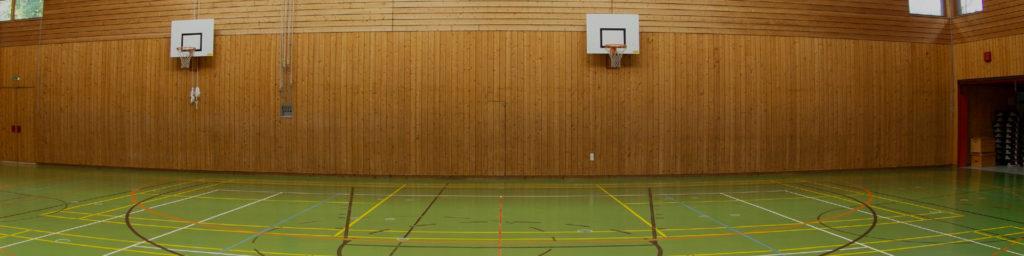 Trainingsorte - Turnhalle