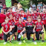 Stärke gezeigt – und wie: Bereits einen Spieltag vor Schluss hat sich die U19 der Burghausen Crusaders den Titel in der American Football Verbandsliga Ost gesichert. −Foto: Crusaders