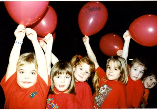 Bild ElKi 3- Eltern-Kind-Turnen 1996